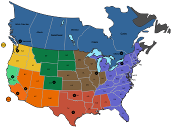 Nationwide Map
